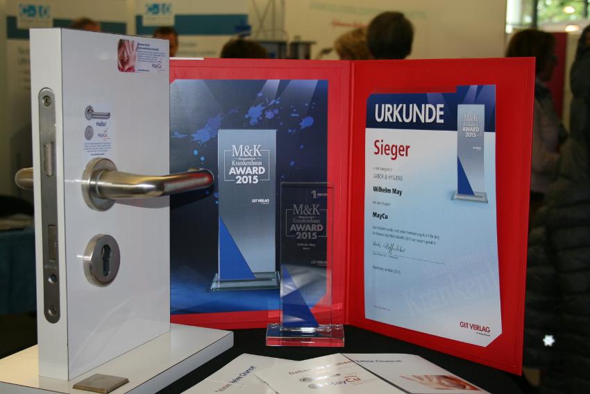 maycu gewinnt den mk award 2015 in der kategorie hygiene. Black Bedroom Furniture Sets. Home Design Ideas
