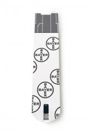 Herzstück der CONTOUR® NEXT Systeme sind die neuen, einzigartigen CONTOUR® NEXT Sensoren. Quelle: Bayer HealthCare Deutschland