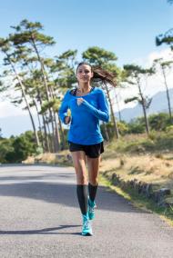 ErgoPad® run & walk - die Sporteinlage für Laufen und Walken - unterstützt bei längeren Touren die ermüdende Muskulatur.