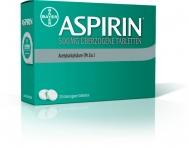Die neue Aspirin 500mg überzogene Tablette führt zu einer doppelt so schnellen, deutlich spürbaren Schmerzlinderung im Vergleich zur bisherigen Formulierung. Foto: Bayer HealthCare Deutschland (Aspirin®). Der Abdruck ist honorarfrei, ein Belegexemplar wird erbeten.