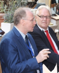 Prof. Dr. Helmut Höh (links), Dieter Staubitzer