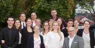 """Das Symposium """"Teamplayer oder Einzelkämpfer? – Das Dilemma zwischen Kooperation und Konkurrenz"""" zum Thema Zusammenarbeit in Therapieberufen organisierten Studenten der Hochschule Fresenius"""