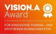 Best Cases aus Pharma- und Apothekenkommunikation: Einsendeschluss für den VISION.A Award ist der 10. Februar.