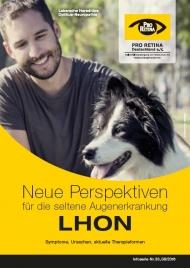 """PRO RETINA Broschüre """"Neue Perspektiven für die seltene Augenerkrankung LHON"""""""