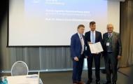 Prof. Dr. Thomas Kohnen, Prof. Dr. Marcus Kernt, Dipl.-Ing. Dieter W. Staubitzer   (v.l.n.R.)