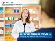 """""""Erkältungsmarkt 2017/2018: Was das Apothekenteam empfiehlt"""" - 1.900,00 Euro"""