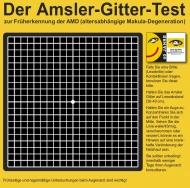 Amsler Gitter Test zur Früherkennung einer AMD.