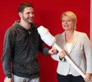 Setzen sich gemeinsam für den Kampf gegen den Blutkrebs ein_ Arne Rudolf und Andrea Spatzek