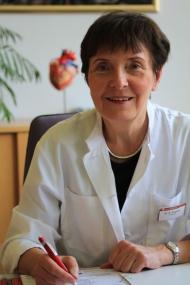 Kardiologin Dr. Augsten