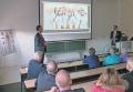 V.l.n.r.: Prof. Dr. med. Achim Jockwig und Prof. Dr. Daniel Grubeanu. Bild: Hochschule Fresenius