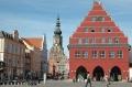 Greifswald, die Universitäts-und Hansestadt - Veranstaltungsort des Welt-Osteoporose-Tag 2015 (von Harald909 - http://de.wikipedia.org/wiki/Greifswald-marktplatz-dom.jpg.)