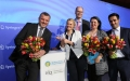Die Preisträger des Pflegemanagement-Awards 2016 (v.l.n.r.: Peter Bechtel, Sarah Behling, Rüdiger Herbold, Doreen Hoffmann, Mustafa Atas)