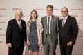 Preisträger und Laudatoren der Sobek-Preisverleihung 2017 v.l.n.r.: Prof. Dr. med. Klaus V. Toyka, Dr. rer. nat. Anneli Peters, Prof. Dr. med. Dr. h. c. mult. Ludwig Kappos und Ulrich Steinbach