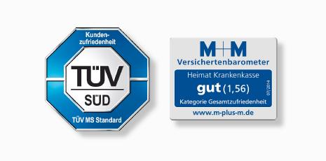 Kunden Vergeben Bestnoten Fur Heimat Krankenkasse Tuv Sud Verleiht Siegel Fur Gesamtzufriedenheit Gesundheit Adhoc