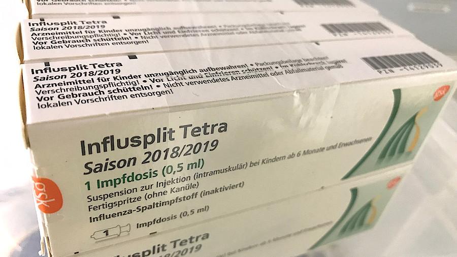 Grippeimpfstoffe ausverkauft