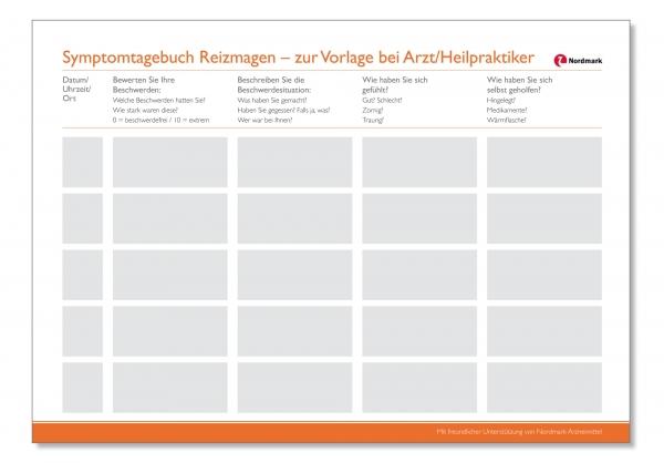 """Symptomtagebuch Reizmagen"""" verbessert Arzt-Patienten-Beziehung und ..."""