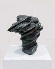 Bronze 'Off the Mountain' von Tony Cragg (80 x 78 x 68 cm), © Deutsche AIDS-Stiftung/David Ertl (Fotograf)