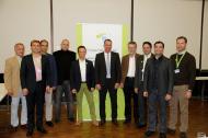 (v.l.n.r.) Prof. Dr. Edgar Schäfer/Münster, Dr. Christoph Zirkel/Köln, Prof. Dr. Roland Weiger/Basel (CH), Priv.-Doz. Dr. Christian Gernhardt/Halle (Saale), Dr. Carsten Appel/Bonn, Prof. Dr. Roland Frankenberger/Marburg, Prof. Dr. Werner Geurtsen/Hannover, Dr. Ralf Schlichting/Passau, Dr. Bijan Vahedi/Augsburg, Dr. Martin Brüsehaber/Hamburg