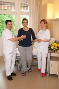 'Die Rollenbilder weichen auf. Auch im Krankenhaus Bethel Berlin arbeiten immer mehr männliche Pflegerkräfte.'