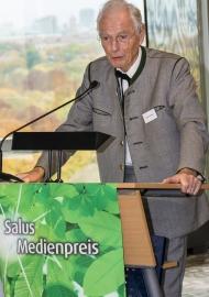 Foto: Otto Greither, Stifter Salus-Medienpreis