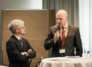 Jürgen Keicher, telc Geschäftsführer (links), und Armin Ehl, Hauptgeschäftsführer des Marburger Bundes