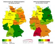 Regionale Entwicklung der Notfallkontrazeptiva
