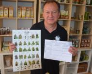 """""""Hanf hat als medizinisches Heilmittel Potential"""", sagt Vaclav Wenzel Cerveny, Veranstalter der Hanf-Messe """"CannabisXXL"""" (10. bis 12. Juli 2015 in München). (Foto: Josef König für Cannabis Verband Bayern/honorarfrei)"""