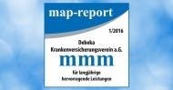 """map-report: """"Die Debeka verteidigt erneut die Position als bester privater Krankenversicherer"""" Die Verwendung dieses Bildes ist für redaktionelle Zwecke honorarfrei. Veröffentlichung bitte unter Quellenangabe: """"Debeka Versicherungsgruppe"""""""