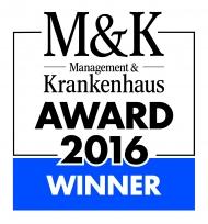 Logo Gewinner M&K-Award