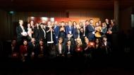 """Die Preisträger der VISION.A Awards 2016 feierten im Berliner Cafe Moskau auf der """"Party der Visionäre"""" Foto: APOTHEKE ADHOC/Harry Weber"""