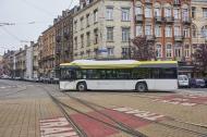 """In Polen gehört der """"antimikrobielle"""" Solaris-Bus bereits zum Stadtbild. Bild: Solaris"""