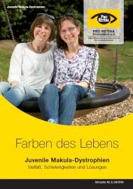 """Die neue Broschüre """"Farben des Lebens """" informiert patientenverständlich über die Aspekte einer fortschreitenden Seheinschränkung"""