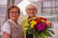v.l.n.r.: Dr. Kirsten Soyke, Dagmar Ziegler, MdB. Foto: Dierck Hilger