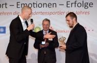 Dr. Markus Nitsche , Friedhelm Julius Beucher, Tom Kierey, DBS/Ralf Kuckuck