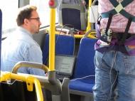 Die Hochschule Fresenius führte Messungen in Linienbussen durch. (© Hochschule Fresenius)