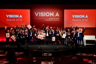 Die Gewinner der VISION.A Awards 2018, Foto: APOTHEKE ADHOC/Peter van Heesen