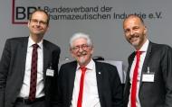 Foto/BPI: Die Hauptgeschäftsführung des BPI (v.l.n.r.): Dr. Norbert Gerbsch, Henning Fahrenkamp und Dr. Kai Joachimsen