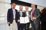 Prof. M. Kernt, Dr. S. Ondrejka, Prof. N. Körber, BV-D. Staubitzer (v.l.n.R.)