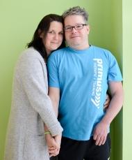 Ein Schlaganfall trifft nie einen Menschen allein, Partner und Angehörige leiden mit. Foto: Deutsche Schlaganfall-Hilfe