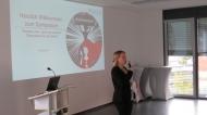 Prof. Dr. Sabine Hammer beim Symposium der Hochschule Fresenius. © Hochschule Fresenius