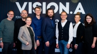 Die achtköpfige Jury bei VISION.A 2020