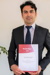 Preisträger der Deutschen Leberstiftung 2020: Dr. Hadi Karimzadeh, München (Quelle: Deutsche Leberstiftung)