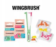 WINGBRUSH für schonende & effektive Interdentalreinigung. WINGBRUSH Halter und 3 Bürstengrößen zur Wahl. Vegane Zahnseide mit Geschmack.