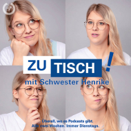 """© Krankenhaus Bethel Berlin / M. Kindler Bildunterschrift: """"Für Schwester Henrike Weß ist Moderation absolutes Neuland. Mit Neugier, Spaß, Fachwissen und ihrer findigen Redaktion stellt sie trotzdem alle zwei Wochen eine coole Show auf die Beine."""""""