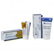 Plasma Liquid® Hautpflegeprodukte mit Manuka Honig oder Silber. Für fettige, unreine Haut. Antibakteriell. Unterstützt die Hautregeneration. Hier mehr erfahren!