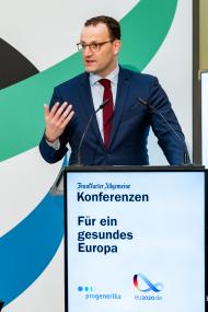 Jens Spahn, MdB, Bundesminister für Gesundheit