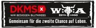 Das Kooperationslogo von Wacken und der DKMS