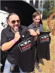 Powerwolf-Frontmann Attila Dorn und Bandkollege Falk Maria Schlegel appellieren gemeinsam mit dem Team vom W:O:A an die Fans: Helft Stefan und anderen.