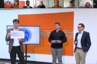 Preisverleihung für Gernot Sümmermann (23) & Manuel Wessely (25)]