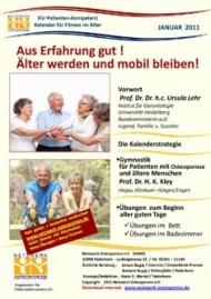 """Kalender """"Aus Erfahrung gut – älter werden und mobil bleiben"""""""